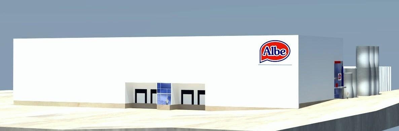 proyecto de ingeniería de las nuevas instalaciones de Lácteas del Jarama