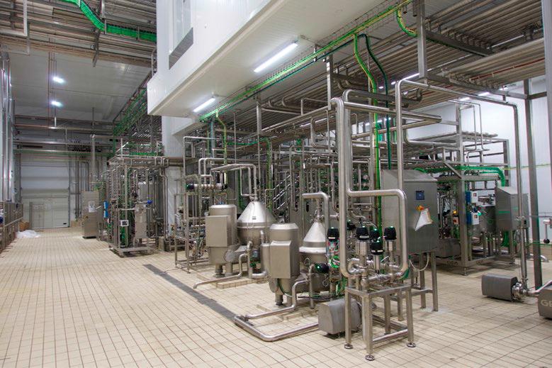 Planta multiproducto: leche UHT, nata y queso