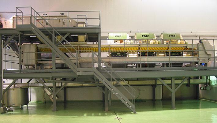 Consultoría tecnológica para planta de elaboración de zumo